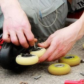Manutenzione delle ruote