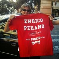 Pinciaroli con Enrico Perano a Palombara Sabina: 18% di pendenza con un solo pattino