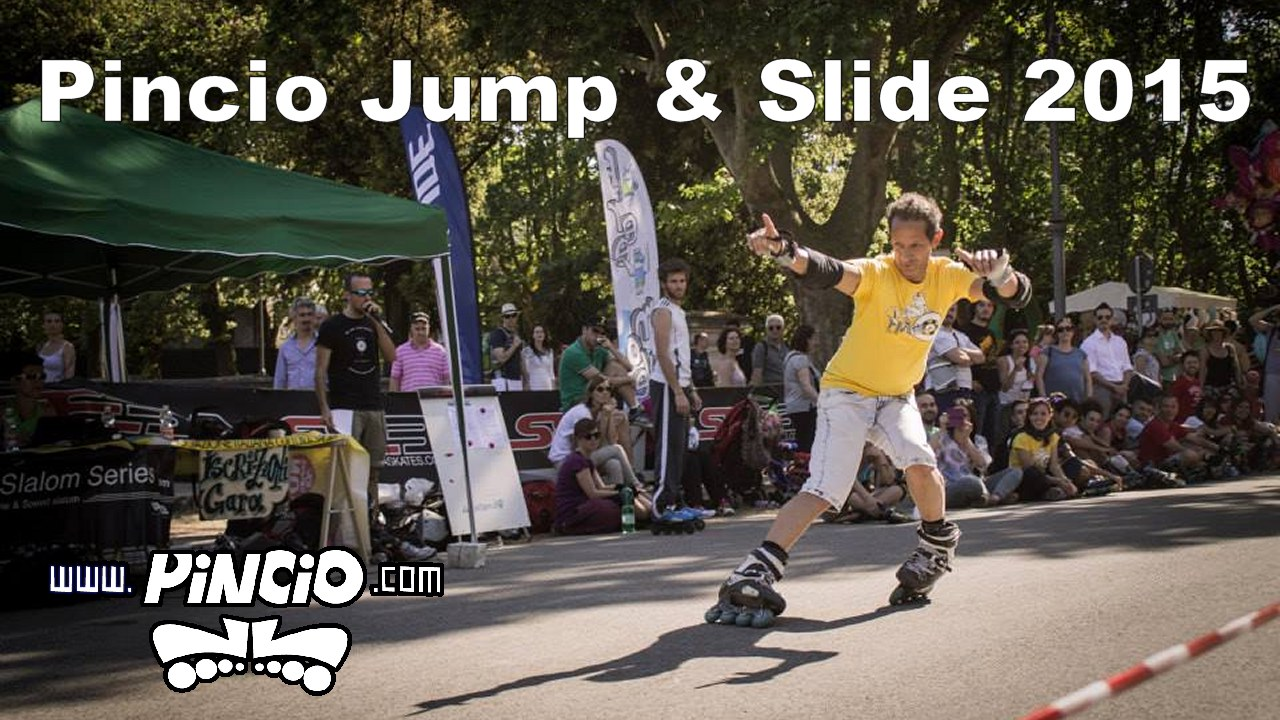 Pincio jump & Slide 2015…. il video!