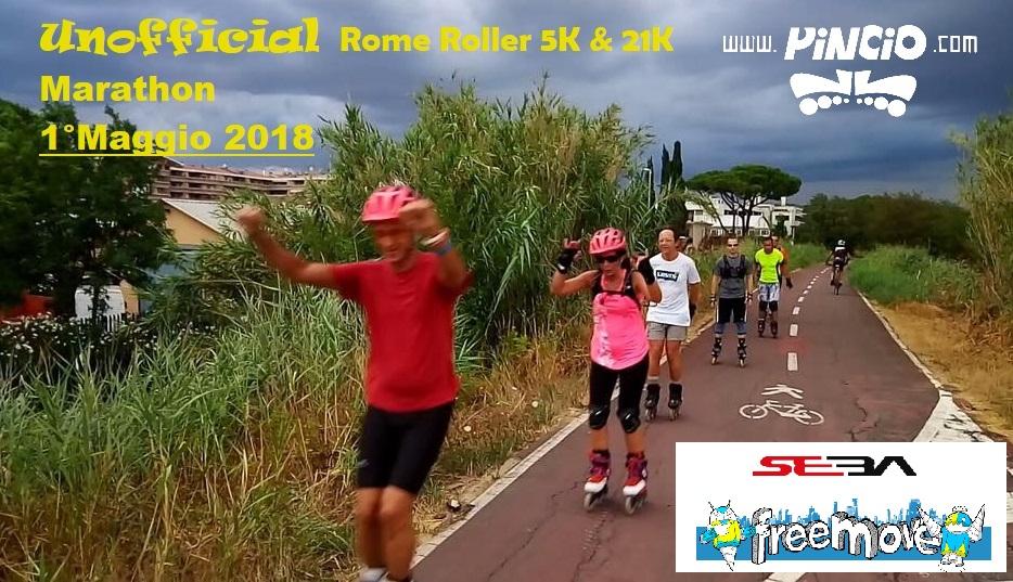 Unofficial Rome Roller  Marathon 5K & 21K 2018
